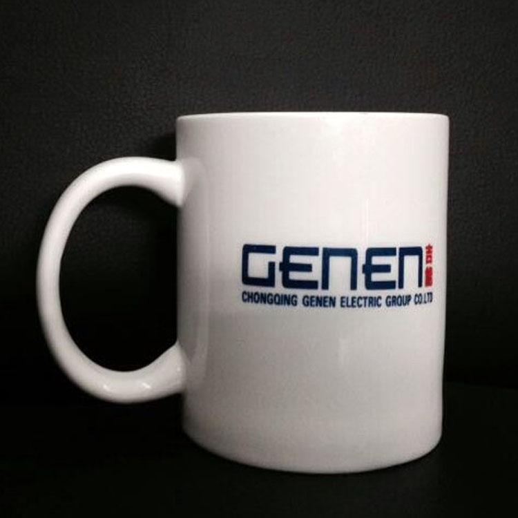 热转印直身马克杯 创意水杯批发定制logo 礼品赠品陶瓷杯子