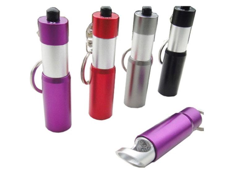 可照明可伸缩可开瓶的钥匙扣灯 开瓶伸缩灯 手电筒